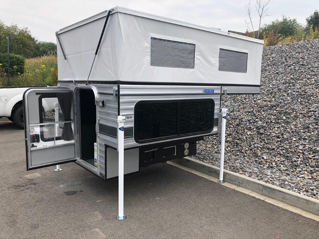 Four Wheel Campers Lynx Wohnkabine - Die Kompakte für Doppelkabiner