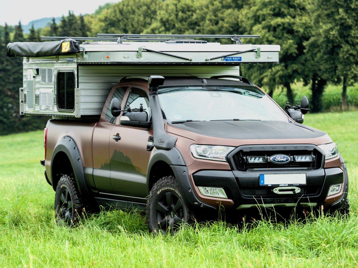 Four Wheel Campers Grizzly Wohnkabine - Die Breite für Kompakte