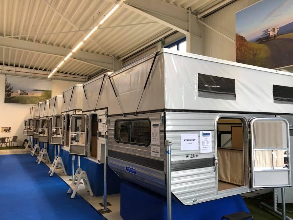 Wohnkabinen-Ausstellung im Wohnkabinencenter GmbH