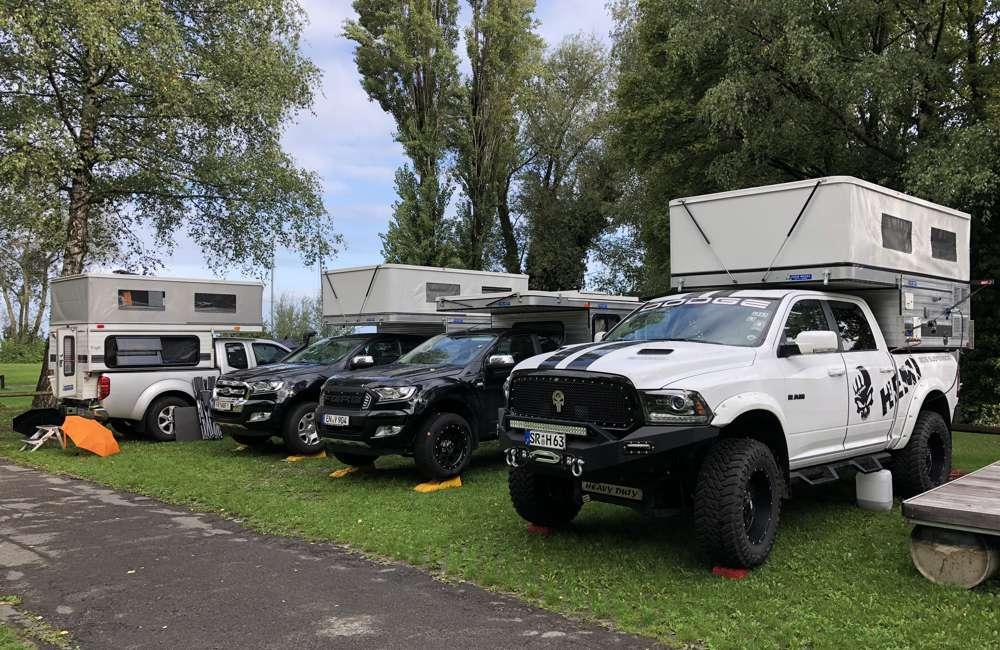 Four Wheel Campers Jahrestreffen Europa Impressionen